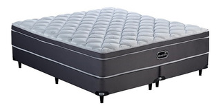 Sommier Simmons BeautySleep King 200x180cm gris