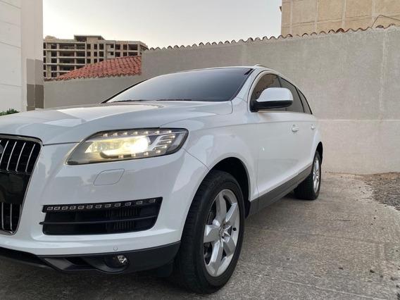 Venta Audi Q7 Luxury Motor 3000 Diesel Blanco 7 Puestos