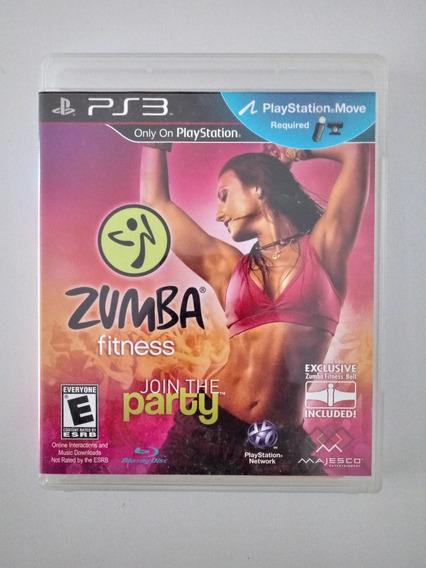 Jogo Zumba Fitness Original Ps3 Playstation 3 Ps Move