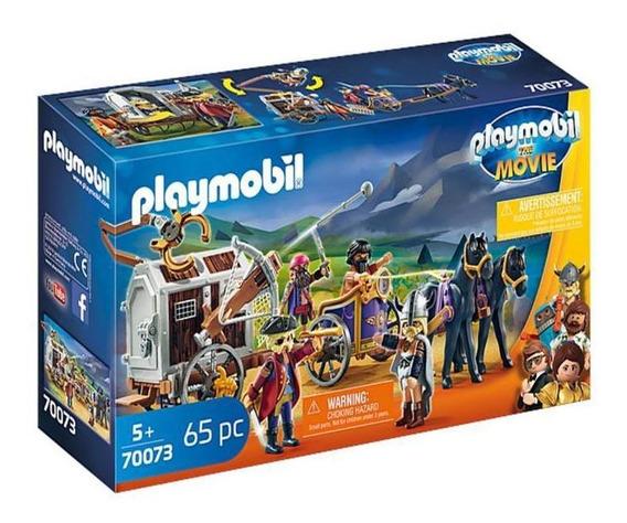 Playmobil 70073 Charlie Con Carro Prision