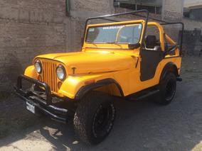 Jeep Cj5 1973 Con Placas De Clasico