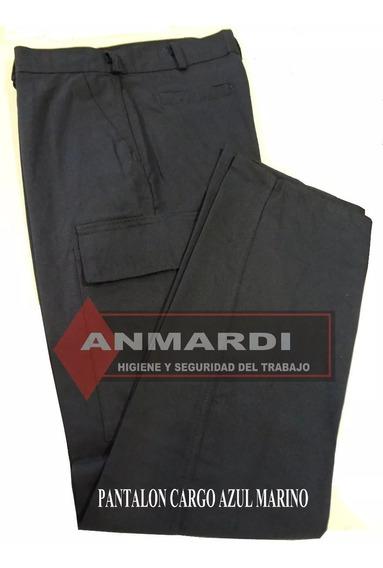 Pantalon Cargo De Trabajo Exc Calidad T/grafa Azul Fac A/b