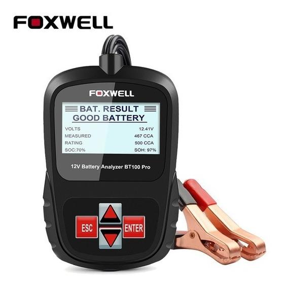 Foxwell Bt100 Pro Testador De Bateria Automotivo Português