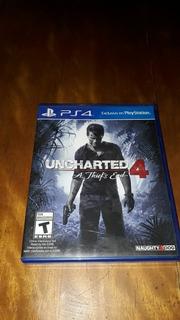 Juego Uncharted 4 A Thief