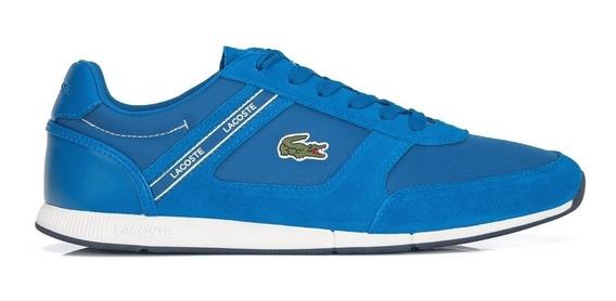Tênis Lacoste Menerva Sport 318 1 Cam Azul
