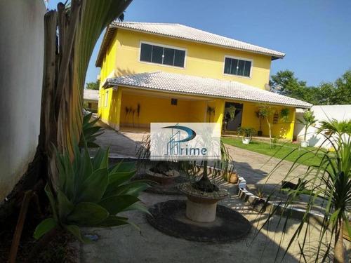 Casa Com 5 Dormitórios À Venda, 406 M² Por R$ 950.000,00 - Itaupuaçu - Maricá/rj - Ca0568
