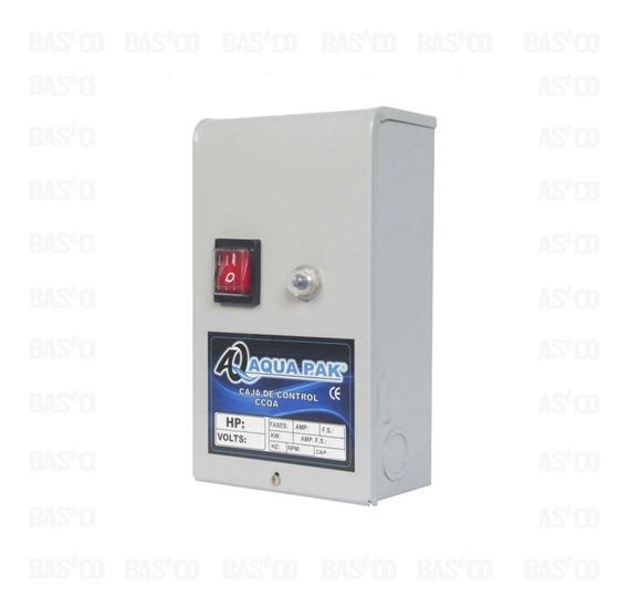 Caja De Control Aqua Pak Para Motor Sumergible, 1.5hp, 230 V