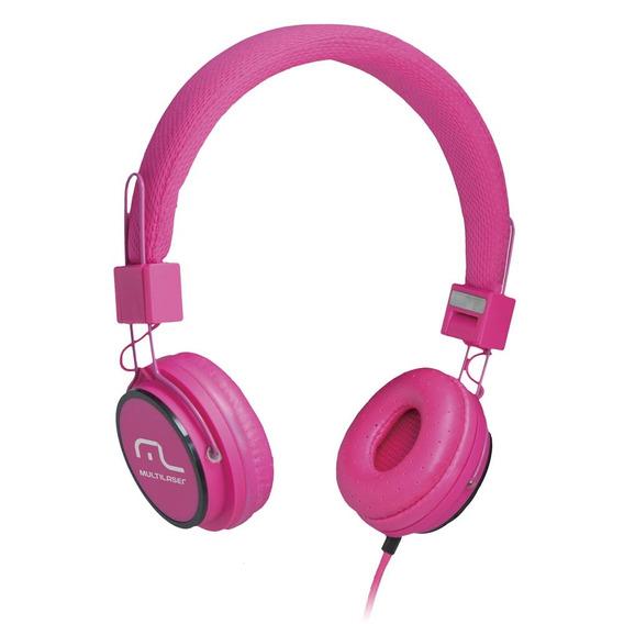 Fone De Ouvido Headphone Fun - Rosa - Multilaser