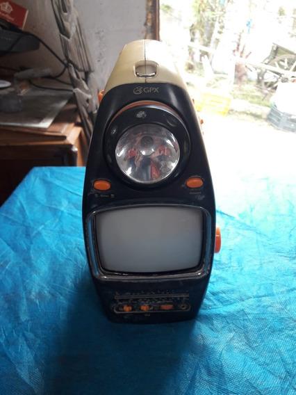Televisão Para Camping Gpx Antigo , O Barateiro
