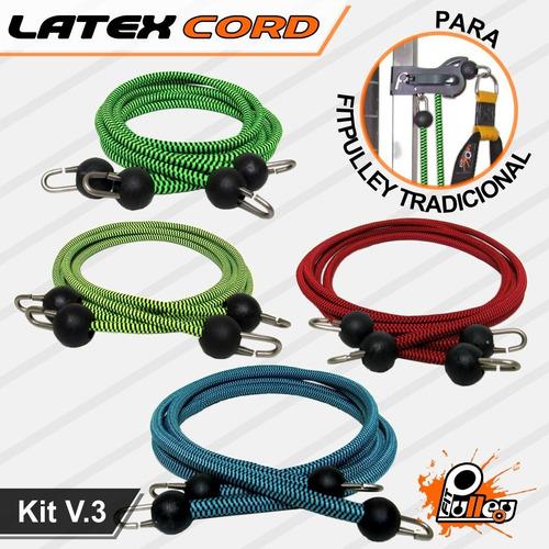 Kit Latex Cord P/ Fitpulley V.3