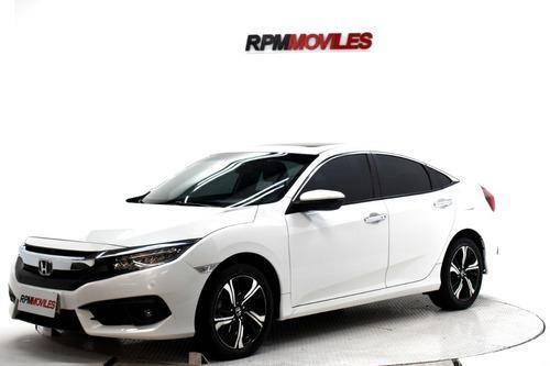 Honda Civic  Ext 1.5 T At Cuero 2017 Rpm Moviles