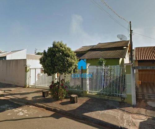 Ca0284 - Casa Com 3 Dormitórios À Venda, 259 M² Por R$ 300.000 - Jardim Moema - Londrina/pr - Ca0284