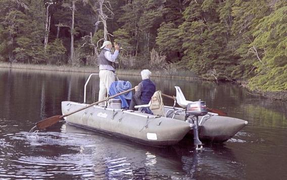 Catarraft Desarmable Alovecs 520 Ideal Pesca Con Mosca