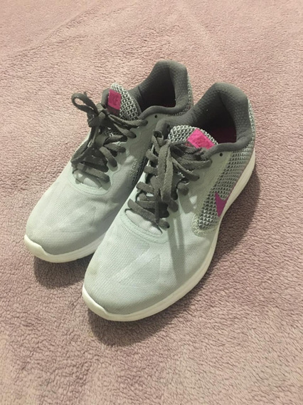 Tênis Nike Revolution 3 Cinza Tamanho 35