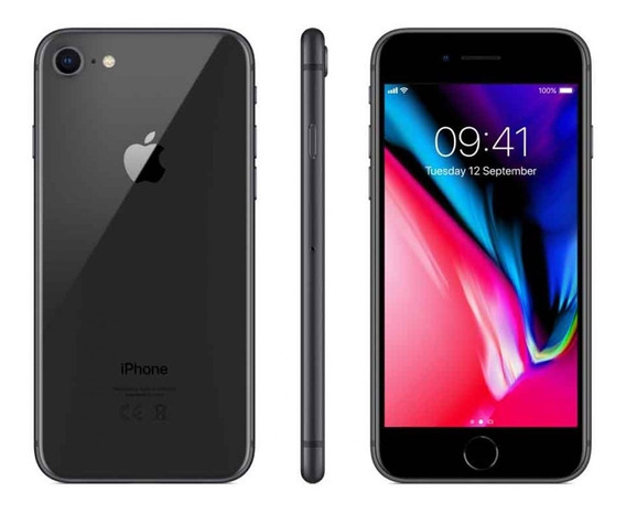 iPhone 8 64gb Space Grey 12 Cuotas (semi-nuevo) Phonefactory