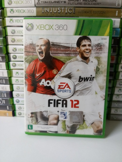 Fifa 12 - Xbox 360 - Original - Mídia Física - Frete 12,00