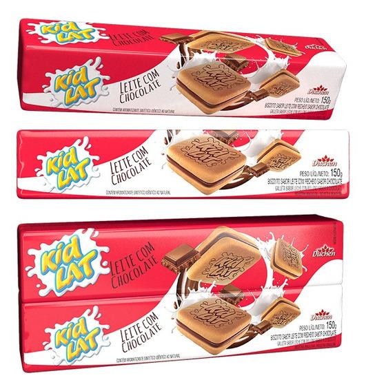 Bolacha Recheada Kidlat Leite Chocolate 150g 1 Unidade