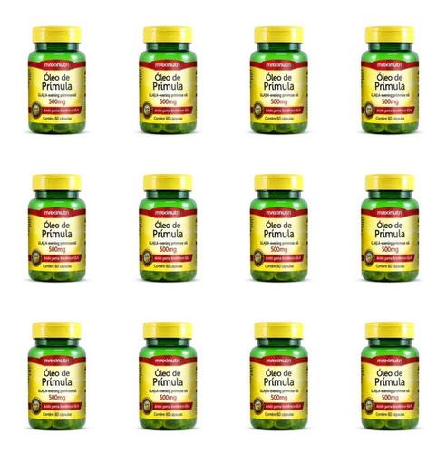 Imagem 1 de 1 de Maxinutri Óleo Primula 500mg C/60 (kit C/12)