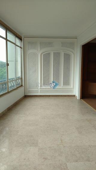 Espetacular Apartamento Em Rua Nobre No Flamengo 4 Quartos, 460 M² Com Vaga Na Escritura. - 3042