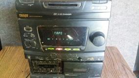 Micro Sistem Funciona Radio E Toca Fitas 2 Deks