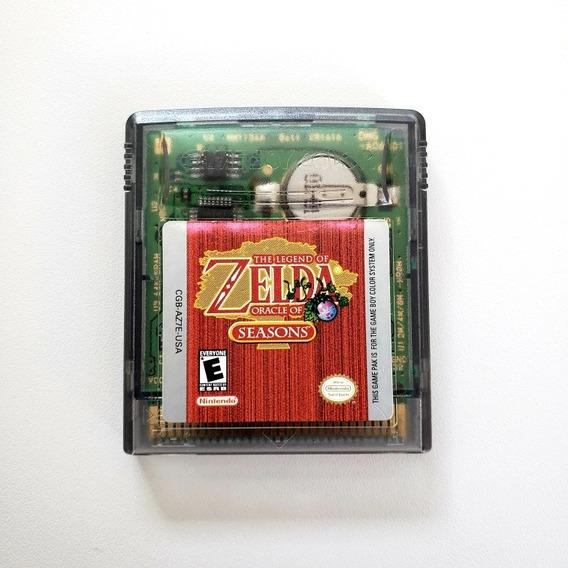 Zelda Oracle Of Season Original Game Boy Color Gameboy Gbc