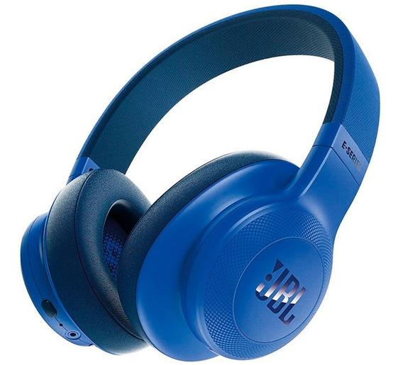Audífonos Diadema Jbl E55bt 3.5mm Bluetooth Over-ear Azul