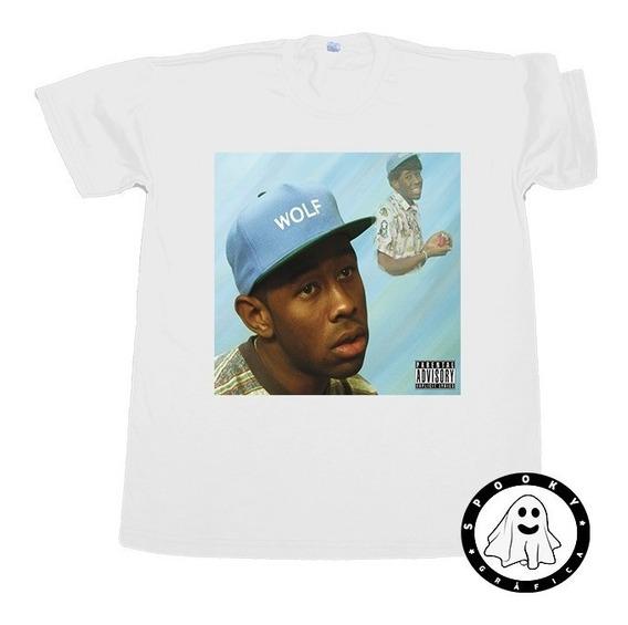 Remera Tyler The Creator Arte Album Wolf Rap Hip Hop