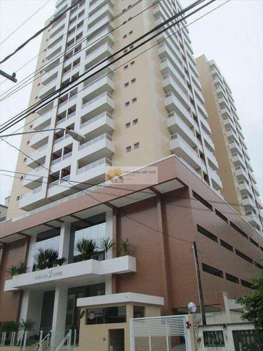 Apartamento Com 3 Dorms, Canto Do Forte, Praia Grande - R$ 650 Mil, Cod: 3175 - V3175