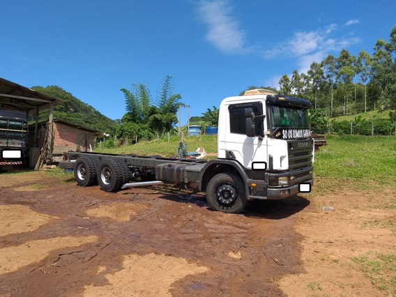 Scania P 124 360 Ano 2003 No Chassi