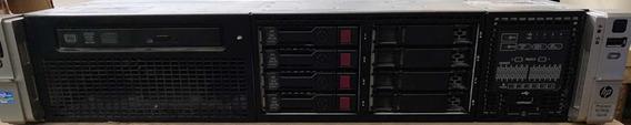 Servidor Hp Proliant Dl380p Gen 8 2x Xeon E5-2667 16gb 1,8tb