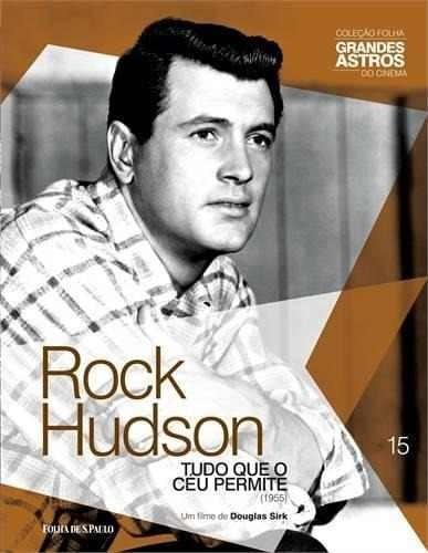 Dvd + Livro Rock Hudson-tudo Que O Céu Permite Folha Vol 15