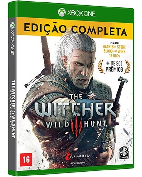 The Witcher 3 Wild Hunt Ed Completa Xbox One Mídia Física