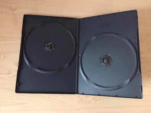 Imagen 1 de 2 de 100 Estuches Caratulas Dvd-cd Negras