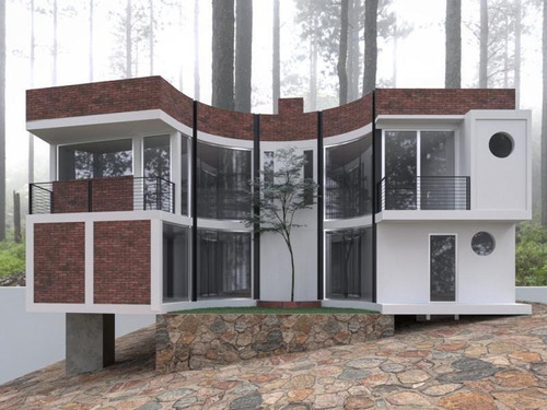 Imagen 1 de 12 de Casa Sola En Venta Cabaña Dentro De Zona Boscosa, Fraccionamiento Privado