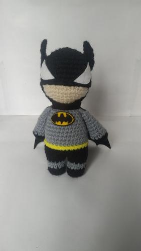 Muñeco Batman Tejido
