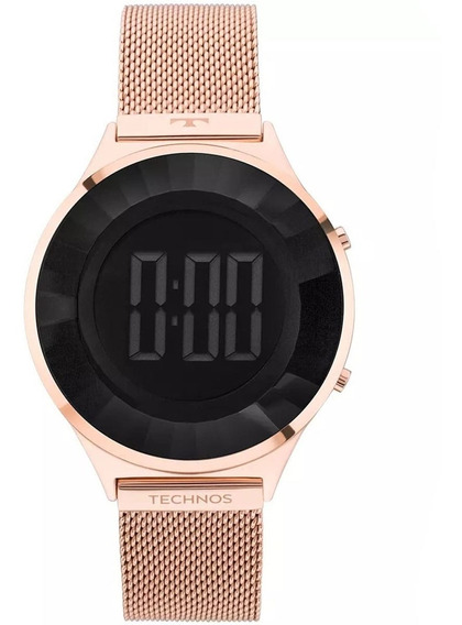 Relógio Technos Crystal Rose Bj3851af/4p
