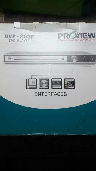 Dvd Player Proview Dvp-203 (c/defeito)