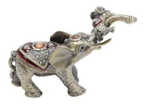 Porta-jóias Elefante 11x4x8cm