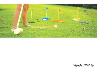 Mini Golf - Brinquedo Educativo
