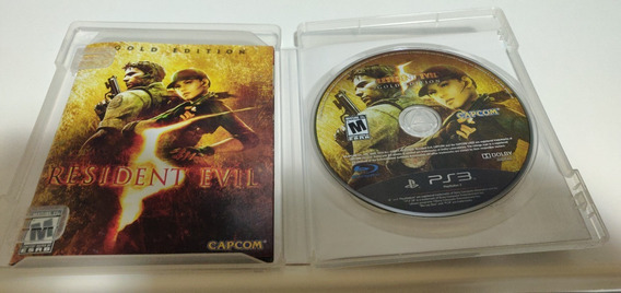 Resident Evil 5 Gold Edition Ps3 Midia Fisica