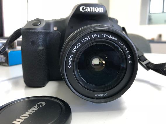 Câmera Canon 60d + Lente 18-55 - 2.816 Cliques