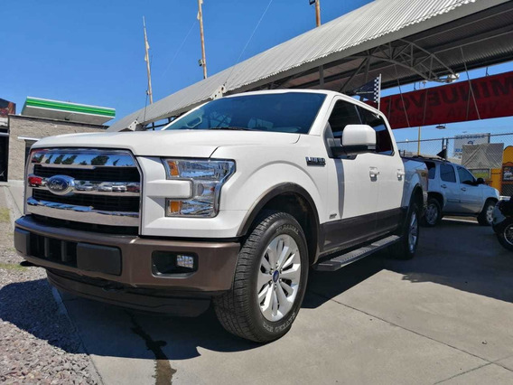 Ford Lobo 2015 3.5 Lariat Cabina Doble 4x4 Mt