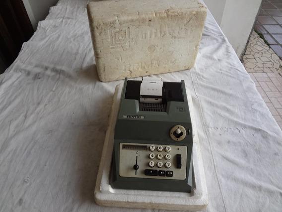 Calculadora Olivetti Prima 20 Na Caixa Original Colecionador