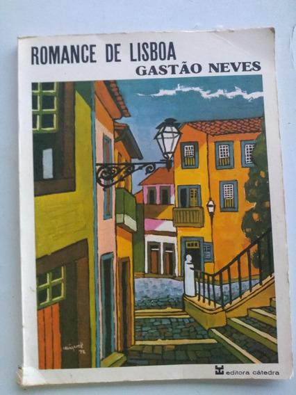 Livro - Romance De Lisboa - Gastão Neves