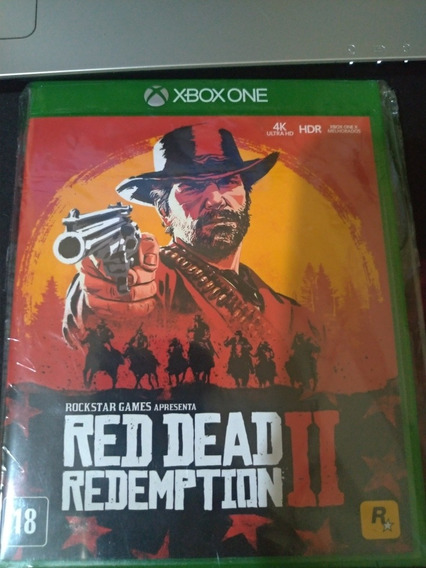 Red Dead Redemption 2 - Xbox One Midia Fisica