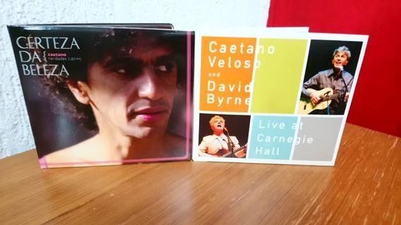 Cd Caetano Veloso Certeza Da Beleza / Live At Carnegie Hall