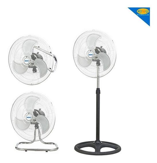 Ventilador Aspas Metalicas Evvo 3 Funciones En 1
