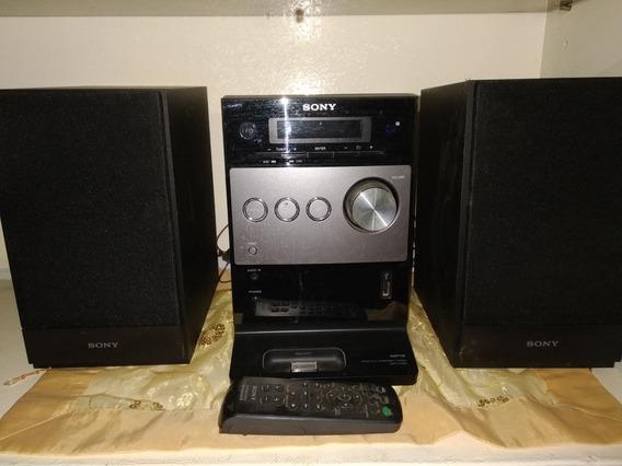 Equipo De Sonido Cmt-fx 300i Usado Lee iPod Y Pendrive