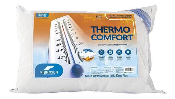 Travesseiro Thermo Comfort Fibrasca - Para Fronha 50x70cm