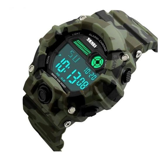 Relógio Masculino Skmei Digital 1197 - Camuflado C/ Caixa